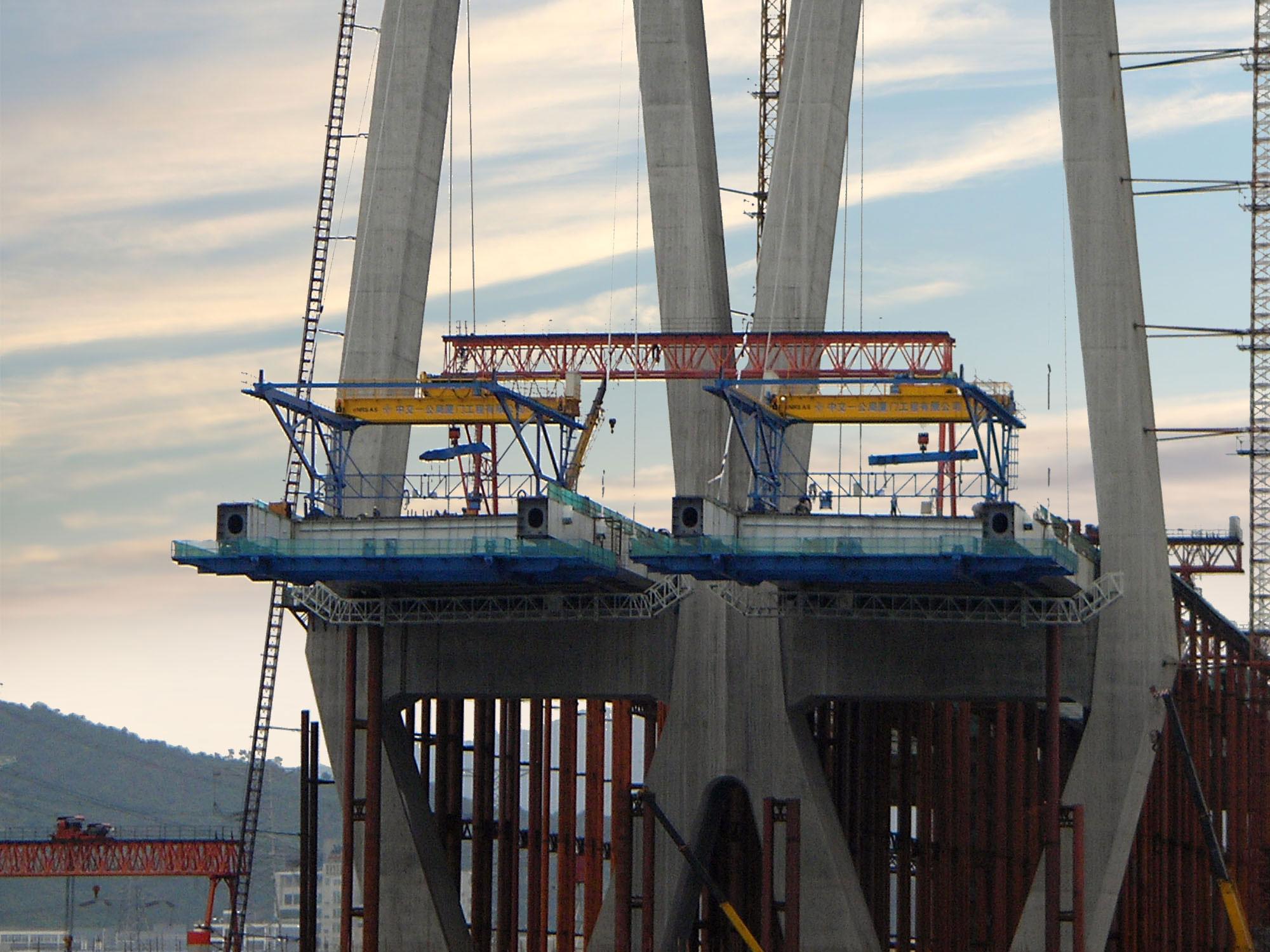 Segment Lifter Sl Amp Derrick Crane Dc Nrs Bridge